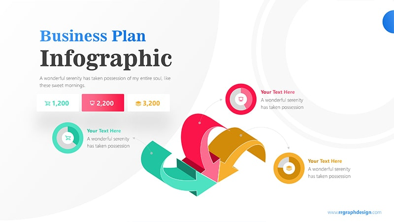 Pie Infographic PowerPoint Template