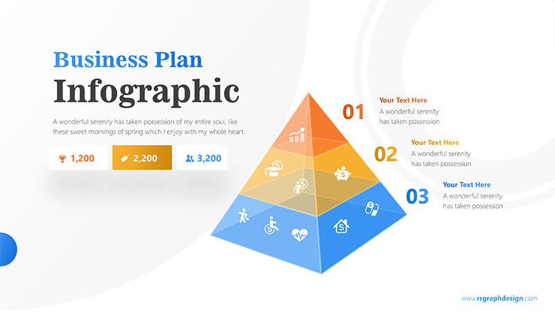 Pyramids Infographic PowerPoint Template