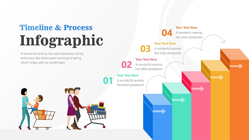 Stairs Infographic PowerPoint Template