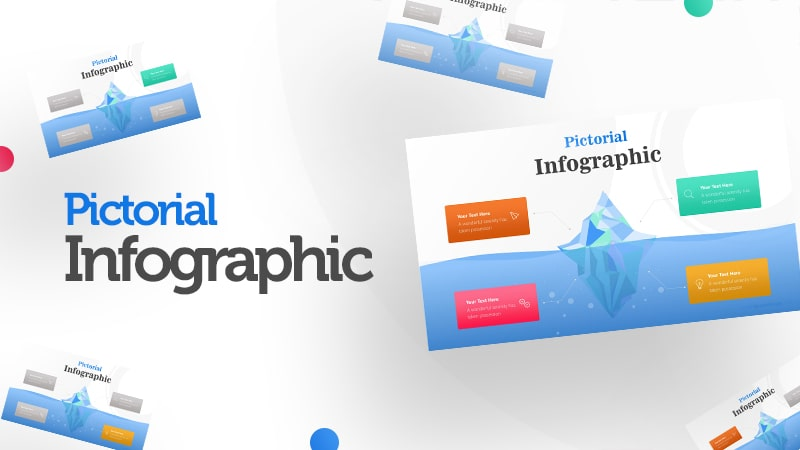4 Business Options of Iceberg Diagram Infographic Presentation 0