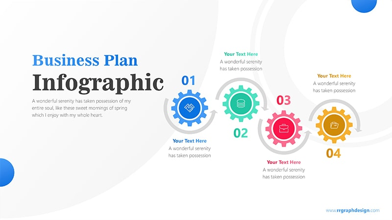 Gearing Infographic PowerPoint Template