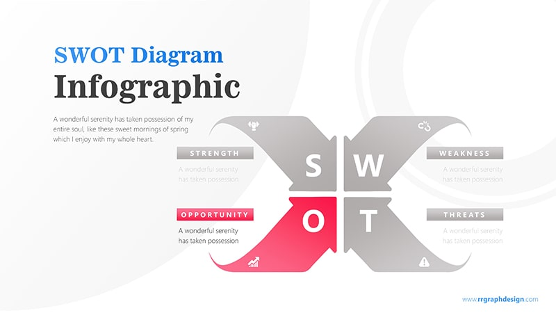 Arrows Infographic PowerPoint Template