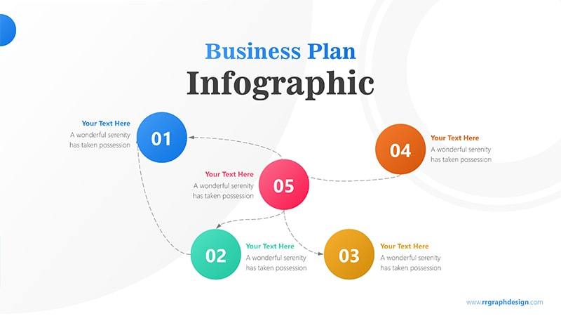 Rotate Infographic PowerPoint Template