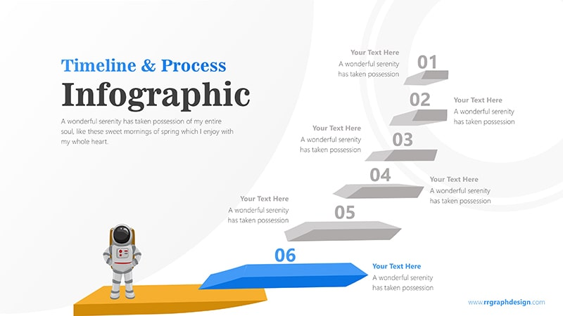Spaceman Infographic PowerPoint Template