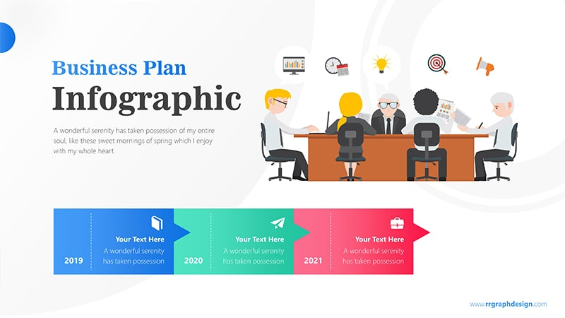 Meeting Infographic PowerPoint Template