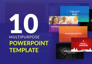 10 Bundle Multipurpose PowerPoint Template