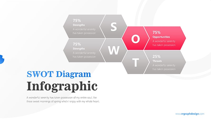 Hexagonal Infographic PowerPoint Template