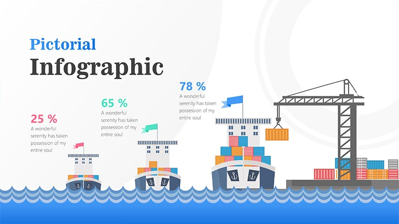Cargo Infographic PowerPoint Template