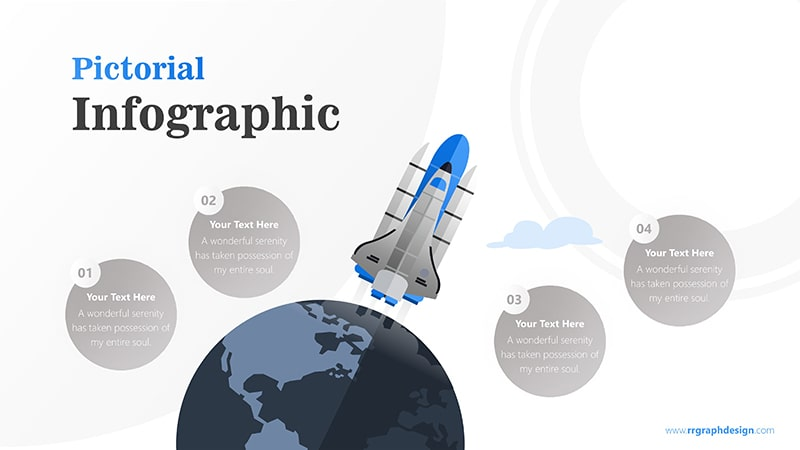Company Product Roadmap With Rocket Leaving Earth Infographic Presentation 6