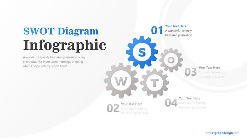 Wheels Infographic PowerPoint Template