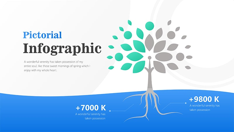 Tree Infographic PowerPoint Template