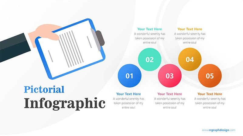 Paper Infographic PowerPoint Template