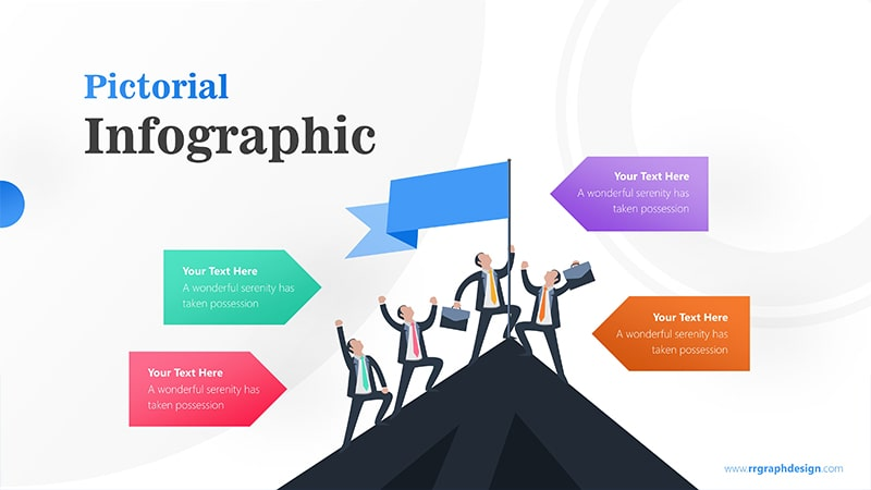 Climber Infographic PowerPoint Template