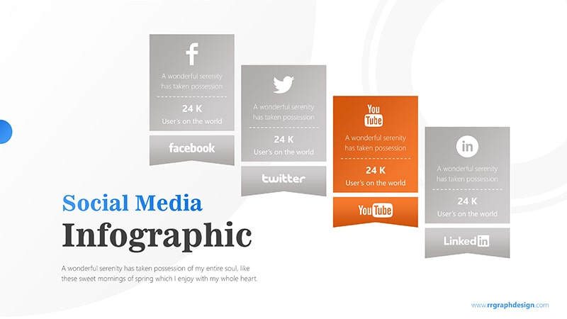 Squares Infographic PowerPoint Template