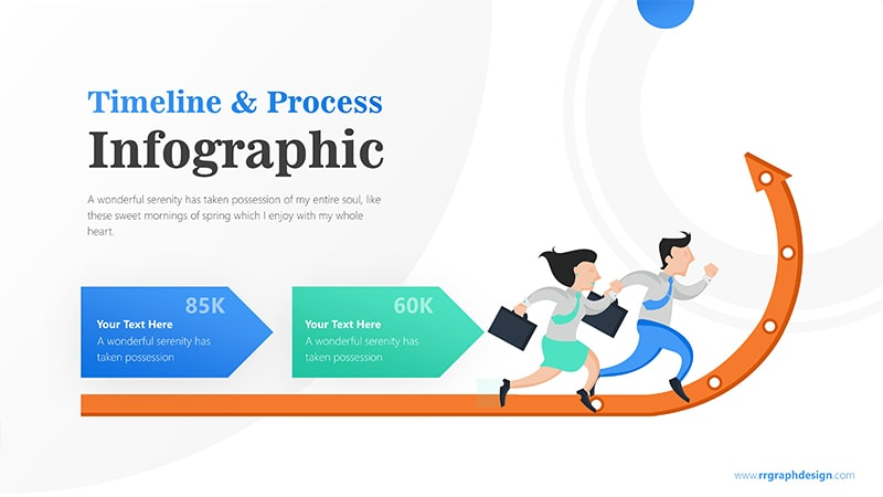 Arrow Infographic PowerPoint Template