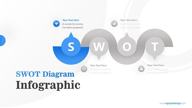 Flow Infographic PowerPoint Template