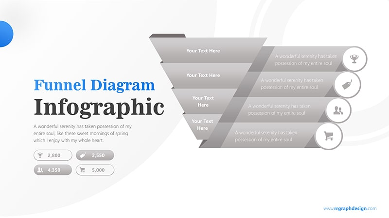 Sale Funnel Chart with Price Icons Infographic Presentation 6