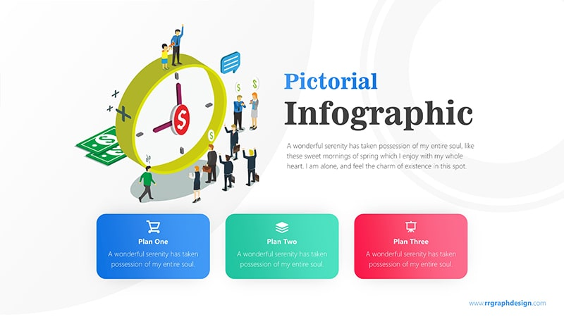 Clock Infographic PowerPoint Template