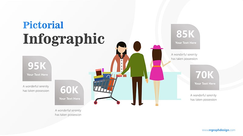 Sales Marketing with Shoping Cart and Ilustration Character Infographic Presentation 6