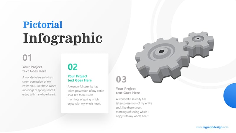 Three Stages of Business with Gear Infographic Presentation 3