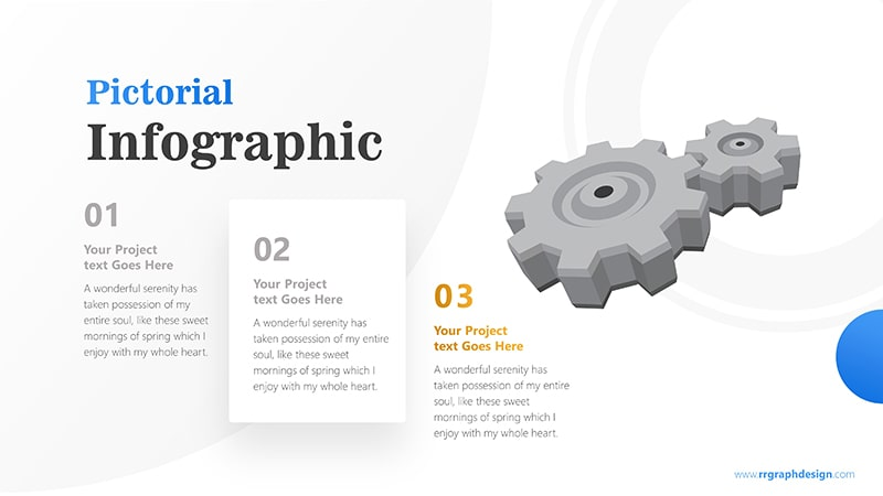 Three Stages of Business with Gear Infographic Presentation 4