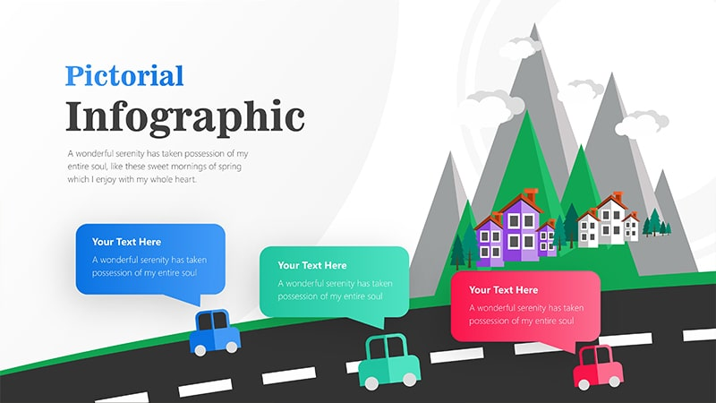Transportation Infographic PowerPoint Template