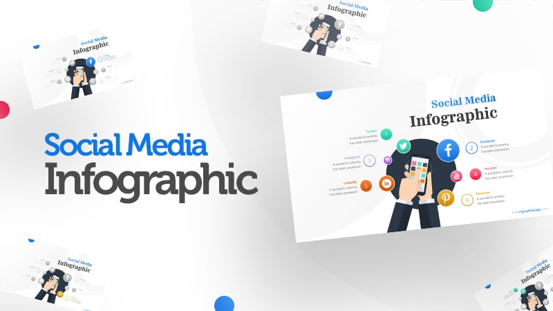 Screen Infographic PowerPoint Template