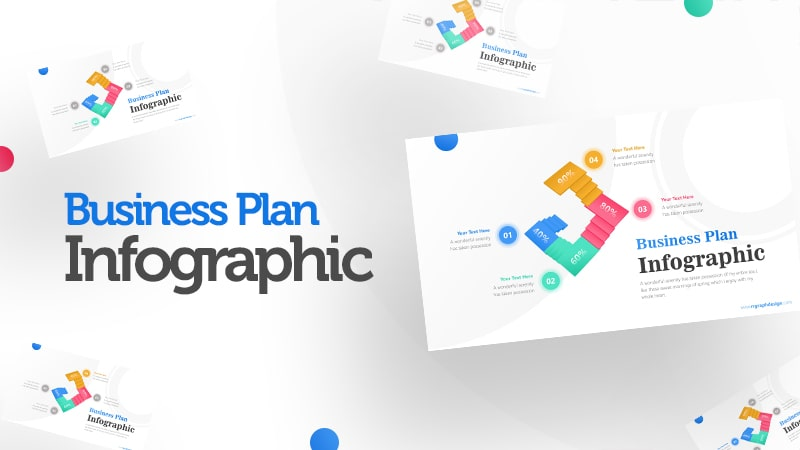 Unique Business Stairs Infographic Presentation 0