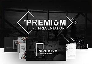 Greyscale Premium PowerPoint Template