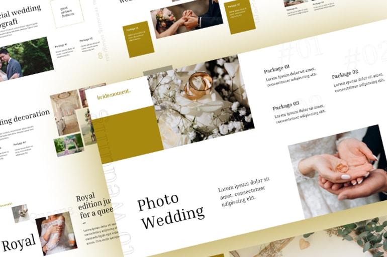 Free Bride Wedding PowerPoint