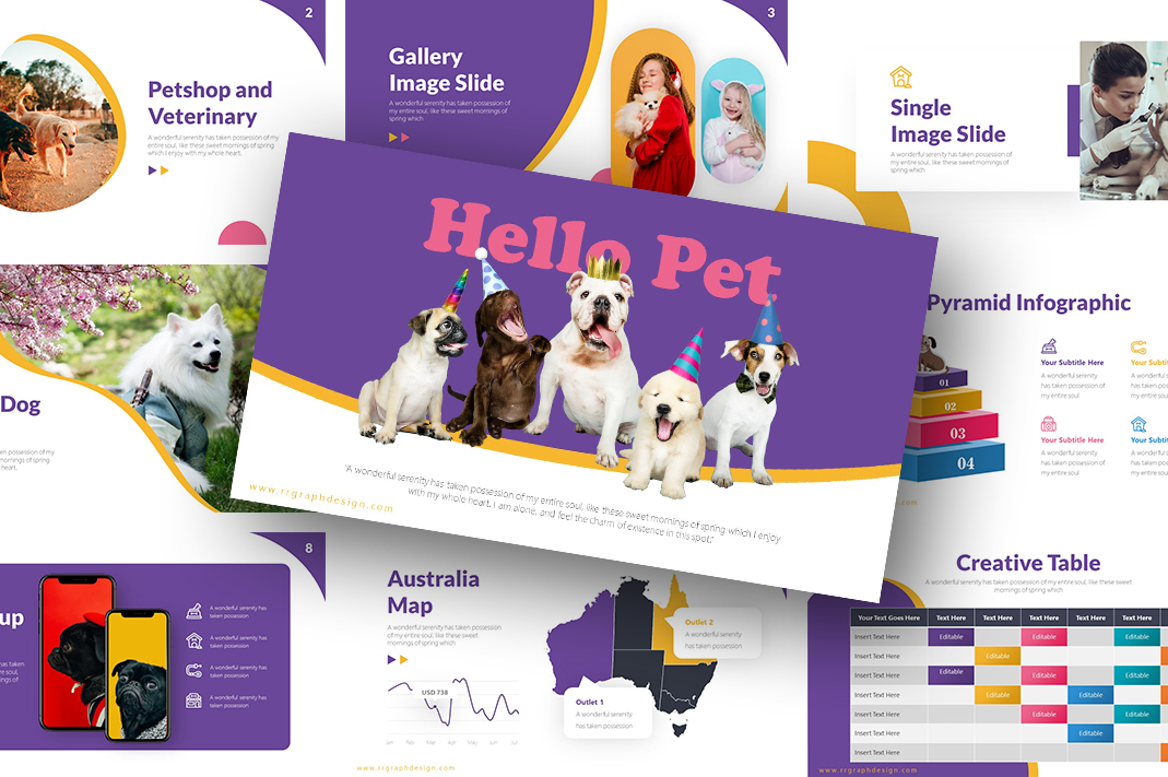 Hello Pet PowerPoint Template