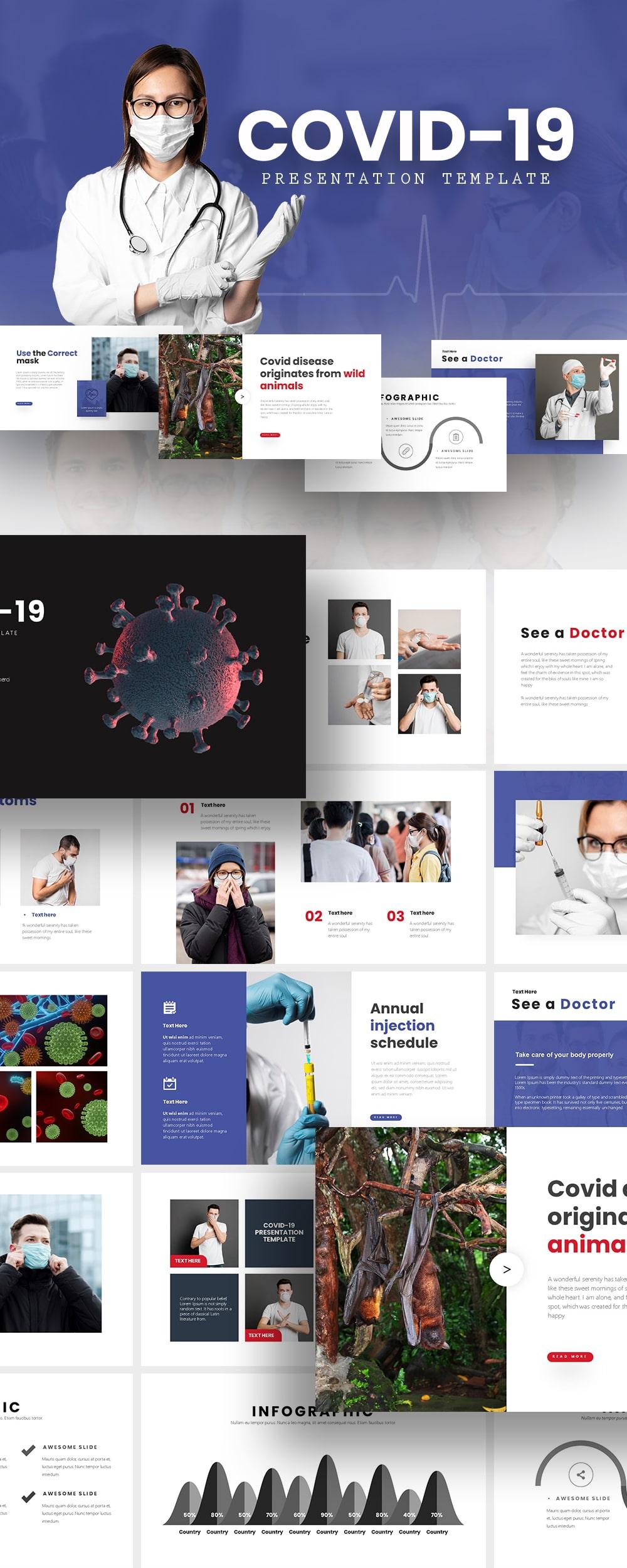Free COVID-19 Presentation Template