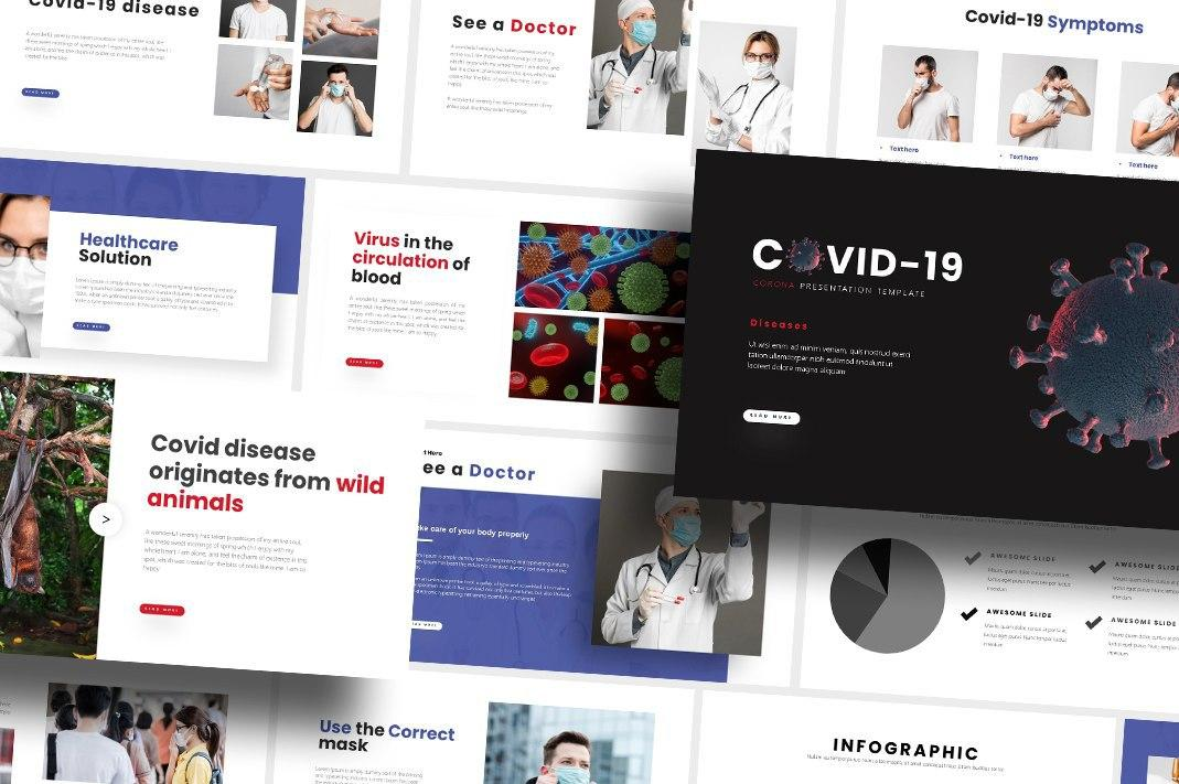 Free Covid-19 PowerPoint Template