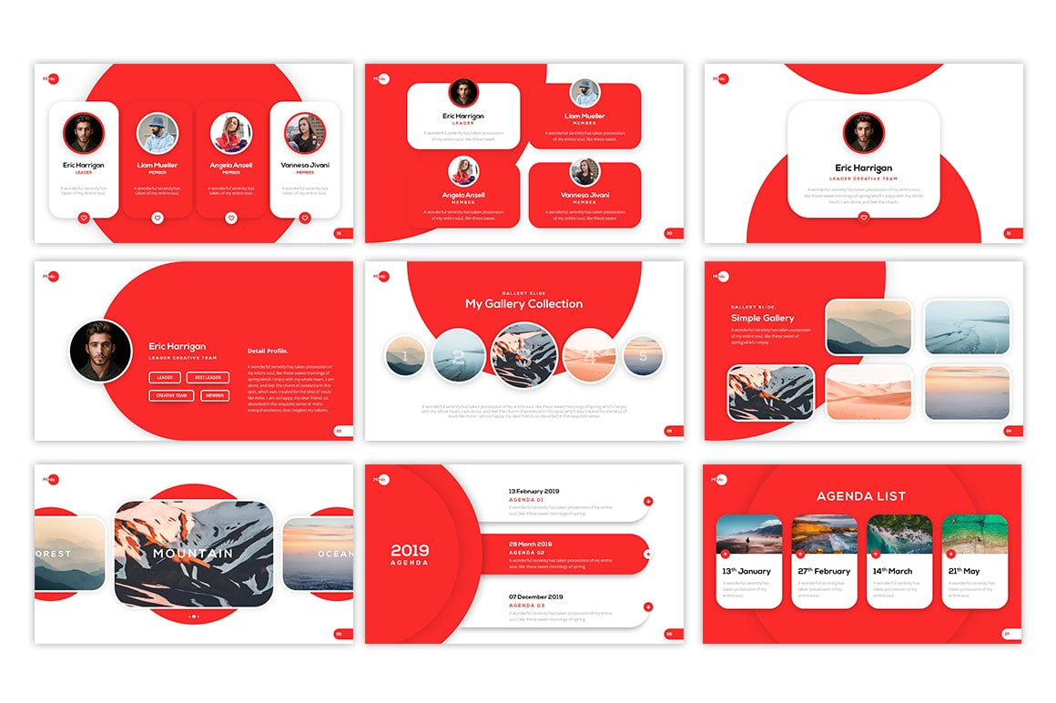 Minilo Creative PowerPoint Template