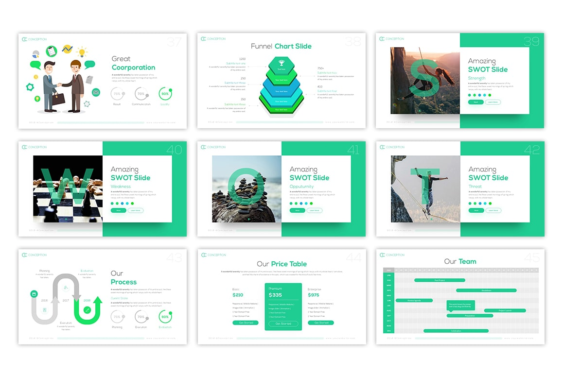 Conception – Professional Presentation Template