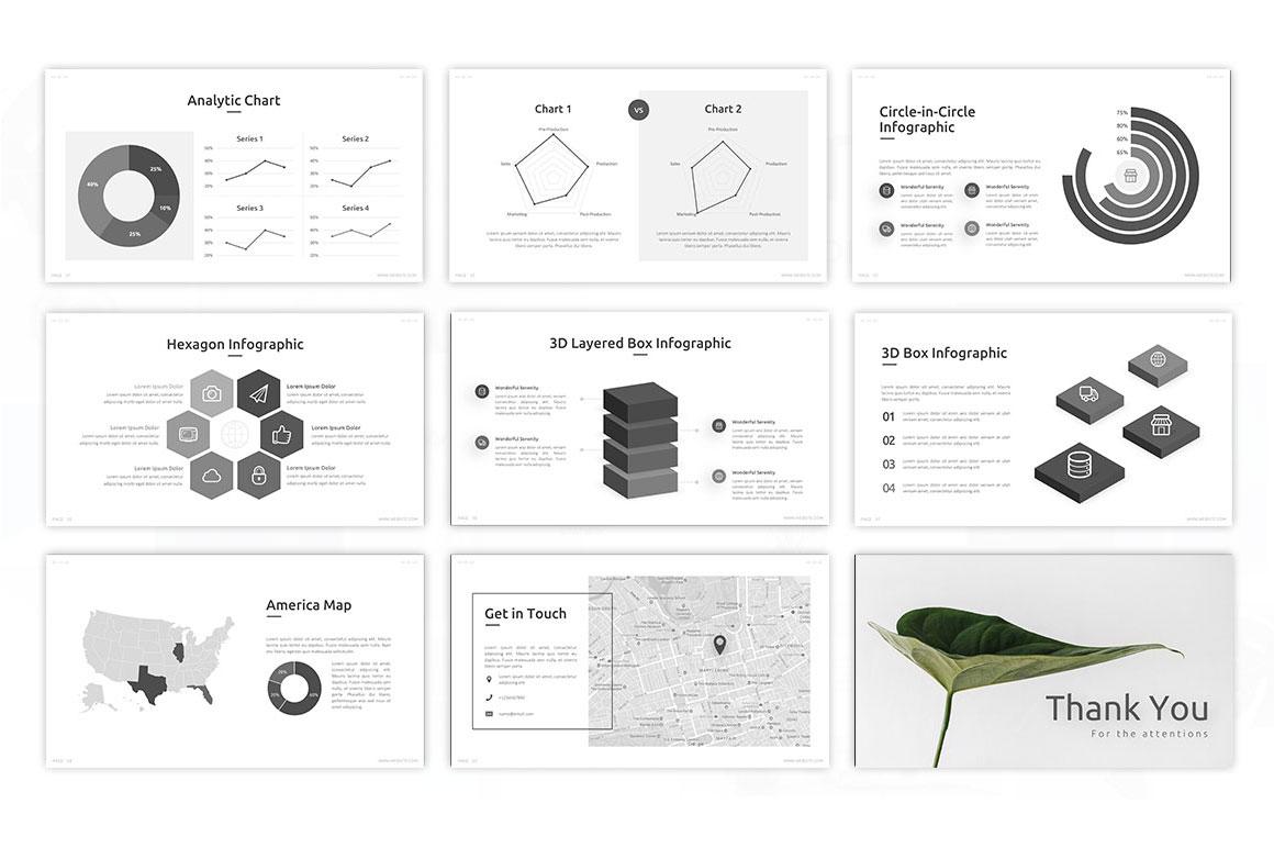 Serenity Minimalist PowerPoint Template