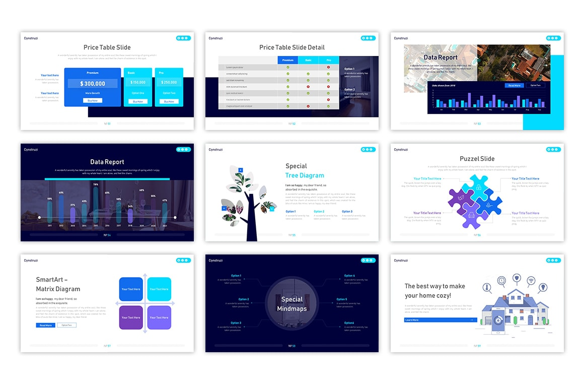 Construzi Architecture PowerPoint Template