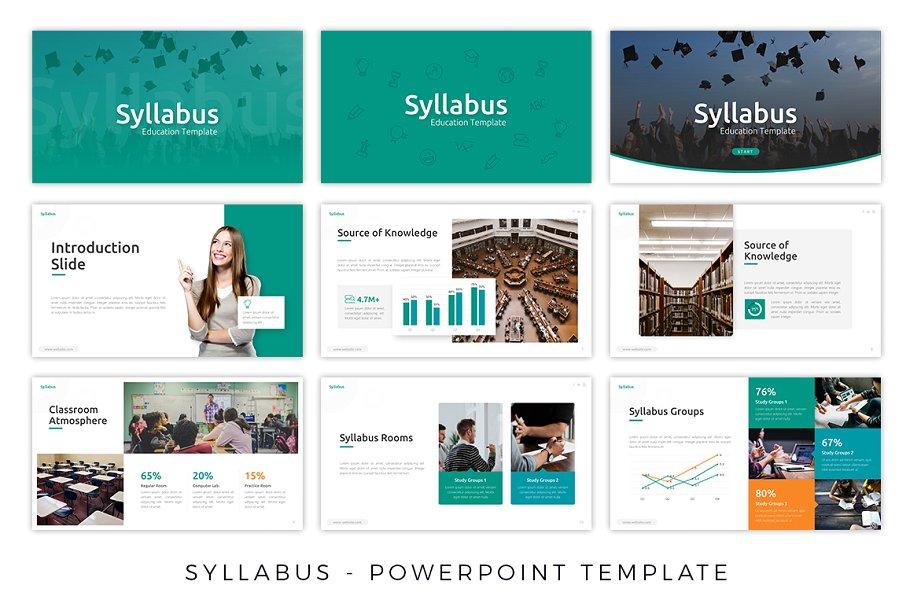 Syllabus – E-Learning Presentation Template