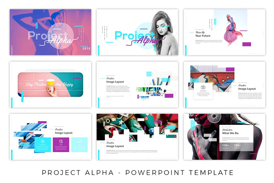 Project Alpha – Trendy Presentation Template
