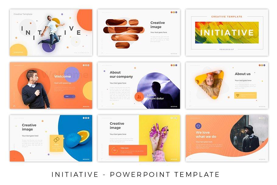 Initiative – Super Unique Presentation Template