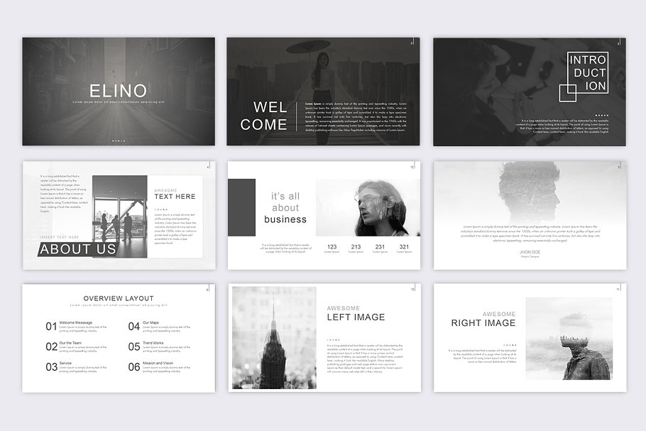 Elino Photography PowerPoint Template