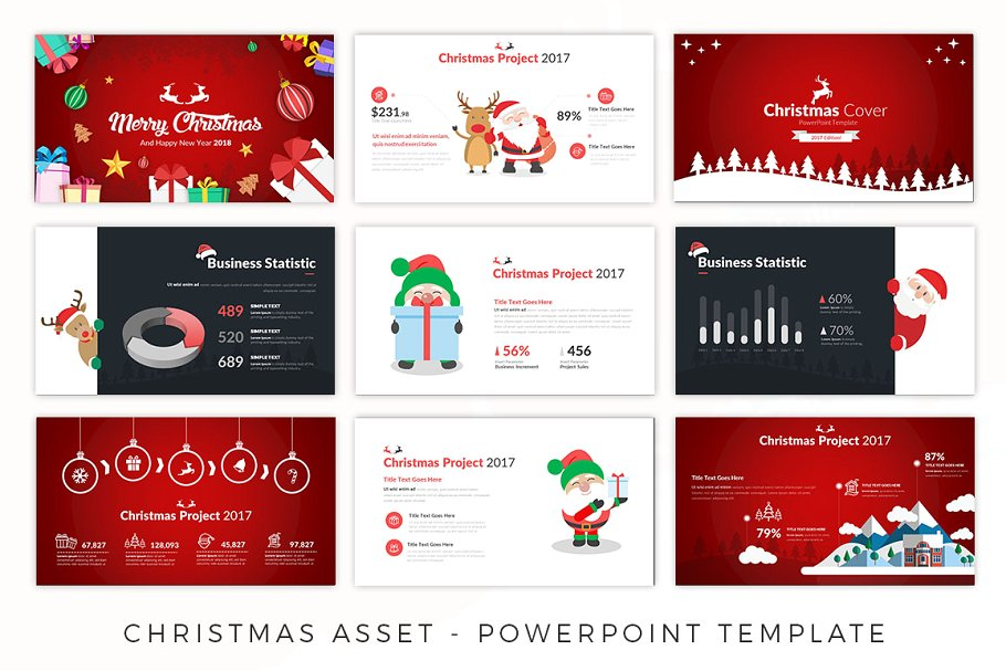 Christmas Asset – Christmas Eve Presentation Template