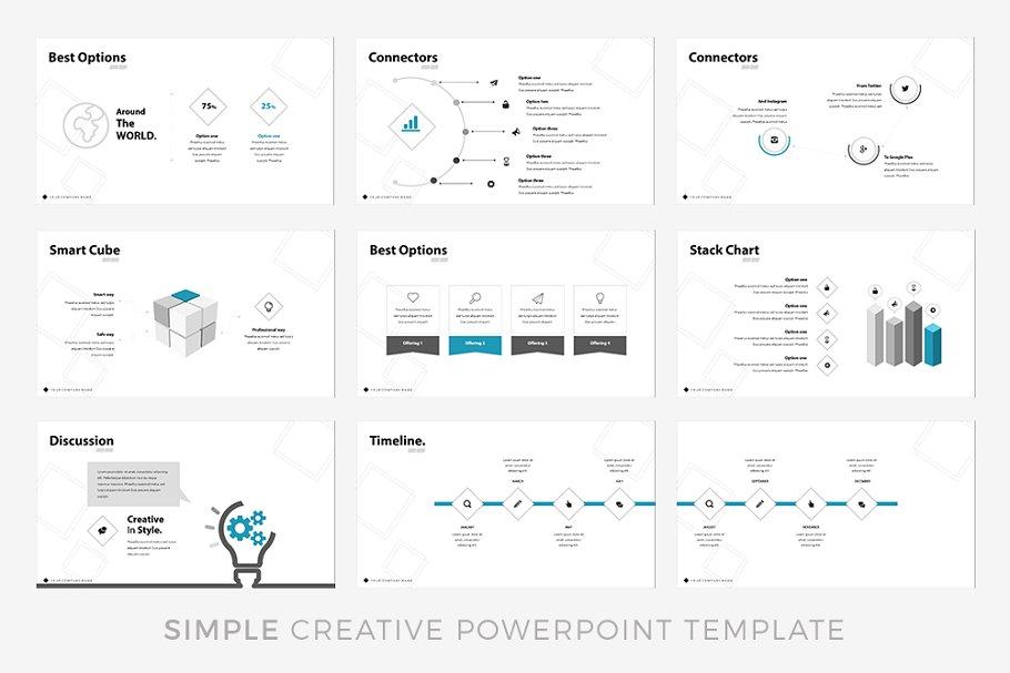Edge – Blue Catalogue Presentation Template
