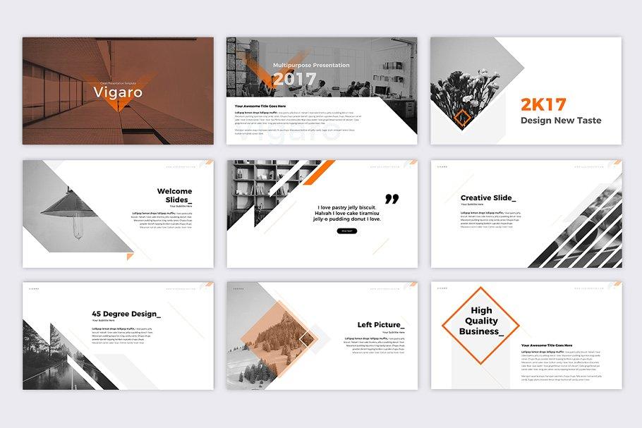 Vigaro – Clean Concept Presentation Template