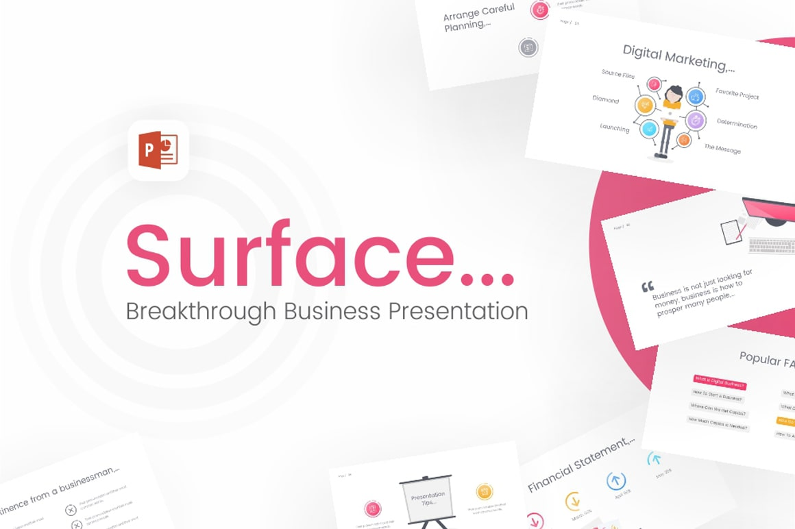Surface-Business-Powerpoint-Template