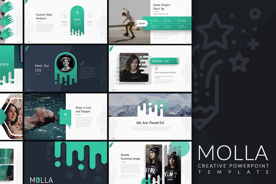 Molla Photography PowerPoint Template