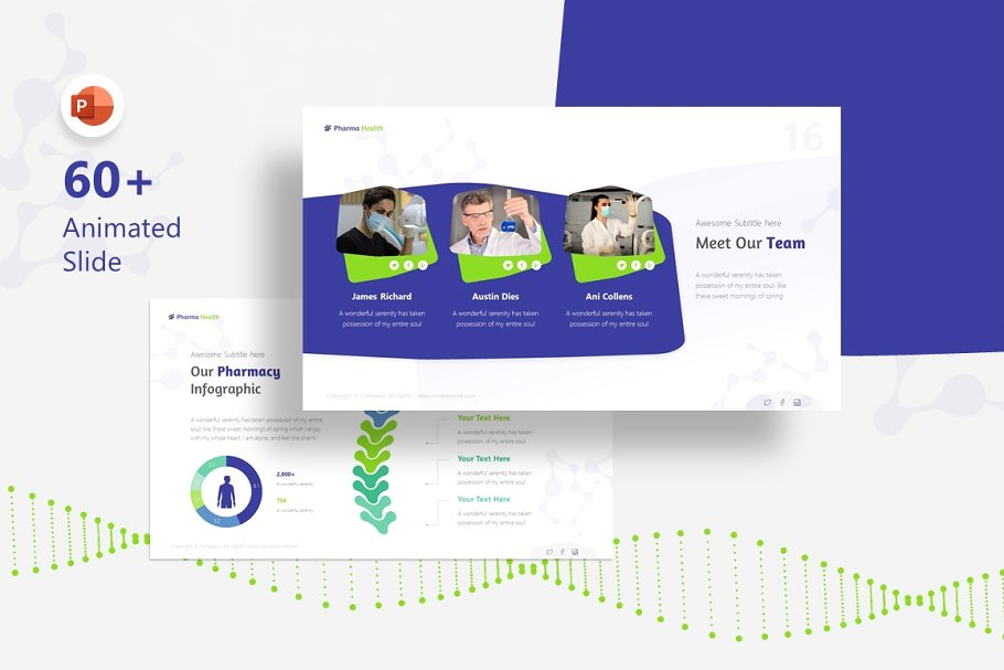 Pharma – Pharmacy Presentation Template