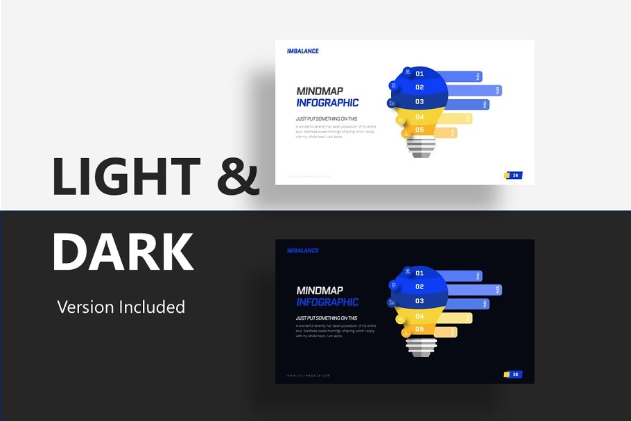 Imbalance Games PowerPoint Template
