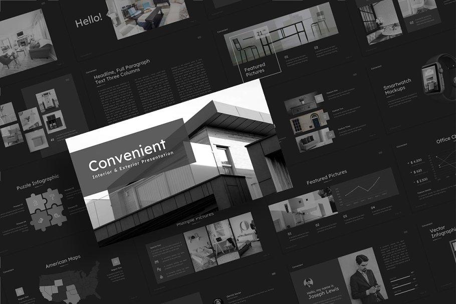 Convenient Real Estate PowerPoint