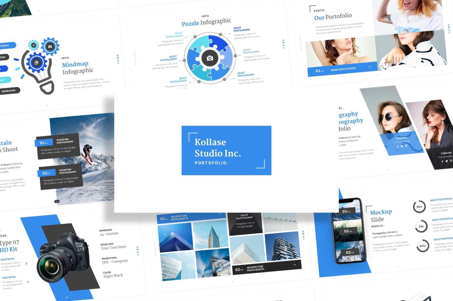 Kollase – Portfolio Presentation Template